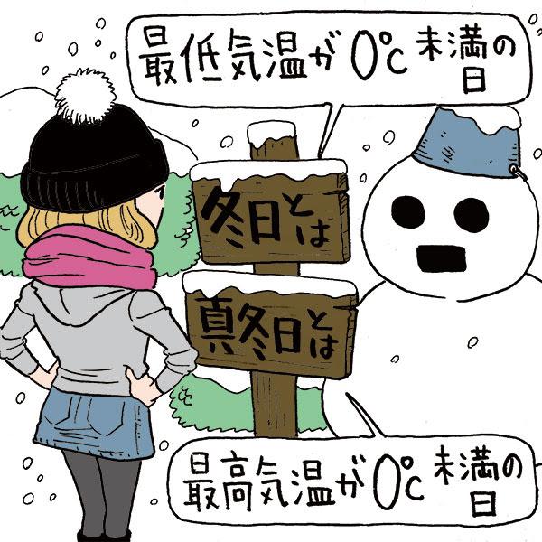 冬の初めと終わりはそれぞれ何月何日 みんなの答えは気象庁の定義より