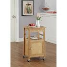 Organize It All Bamboo Kitchen Cart