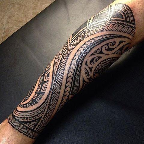 Tribal Tattoo Forearm Design Tattoo Designs Ideas
