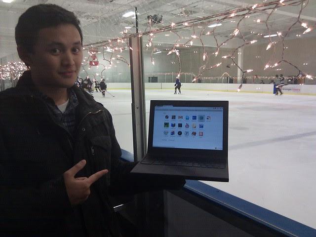 At the Ice Palace in Yorba Linda CA