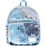 Frozen 800134 Frozen Reverse Sequin Blue & White Backpack