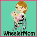 Wheeler Mom Button