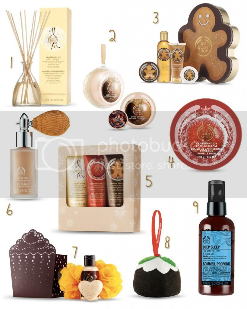 The Body Shop Christmas Gifts Blog Review
