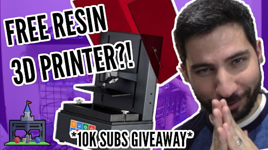 Win a FREE Resin 3D Printer & Mini/Terrain STLs!