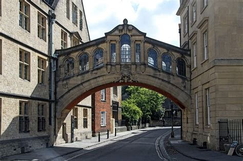 photo bridge  sighs oxford england  image