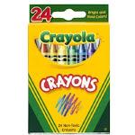 Crayola 52-3024 Crayons In Tuck Box, 24-count
