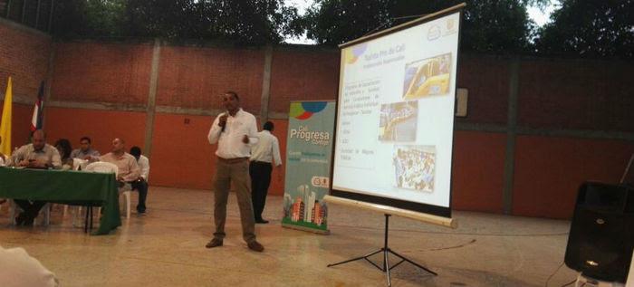 Secretaría de Movilidad promueve la cultura vial en la Comuna 5