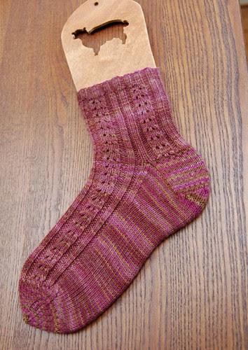 Double Eyelet Socks