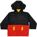 Western Chief Kids Mickey Mouse Rain Coat - Red 3T