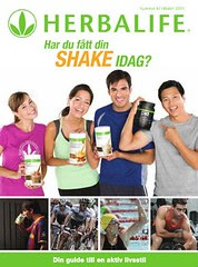 Herbalife product brochure Cover SE Sweden Sverige