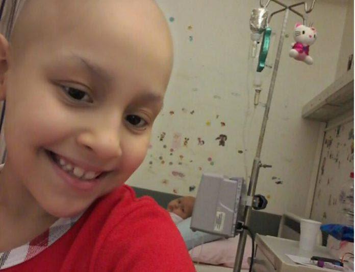 "Image result for 8χρονη Ευαγγελία που δίνει τη δική της ""μάχη"" με τον καρκίνο"