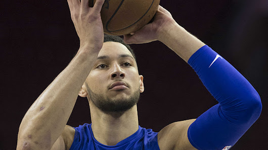 76ers' Ben Simmons, who shoots left-handed, throws first pitch right-handed | NBA | Sporting News