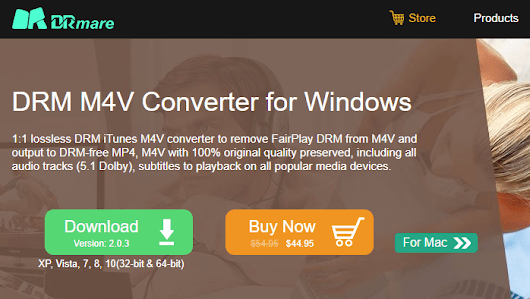 DRmare M4V Converter for Windows Review