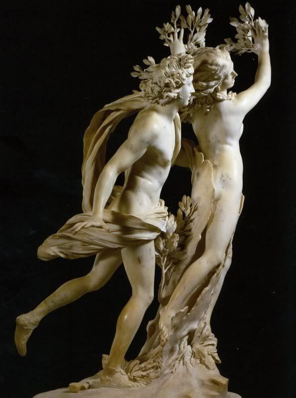 Apollo and Daphne by Bernini 1625