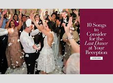 10 Songs to Consider for the Last Dance at Your Reception   Inside Weddings