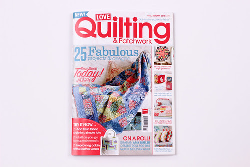 Love Quilting & Patchwork - Fall 2013 by Jeni Baker
