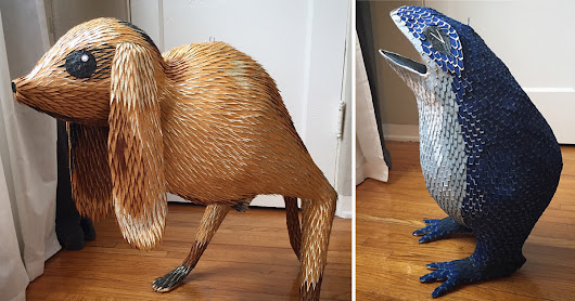 Figures From Hieronymus Bosch's Paintings Recreated as Sculptural Piñatas