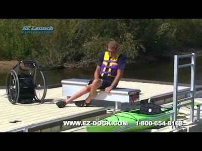 VIDEO: Brighton State Recreation Area offers EZ Launch Accessible Transfer System for Canoes and Kayaks