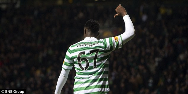 Remember the name: Wanyama looks certain to leave Celtic this summer for the Premier League in England