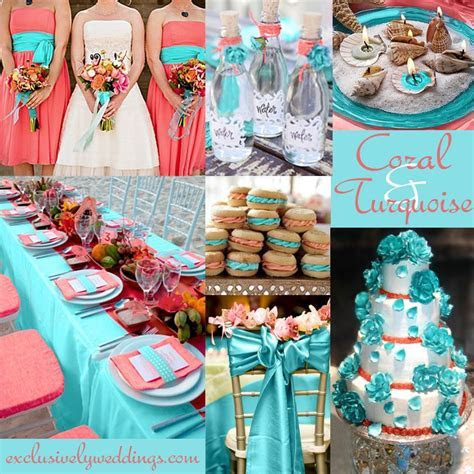 Coral Wedding Color   Combination Options You Don't Want
