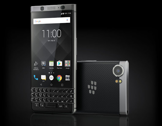 BlackBerry Mercury announced as the KEYone, coming in early Q2 for $549 unlocked