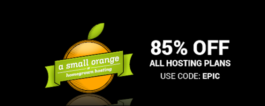 A Small Orange Discount 85% on All Hosting Plans and 2x VPS Memory - Spring Coupon