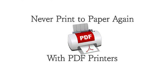 Never Print to Paper Again With PDF Printers | We Are Cousins