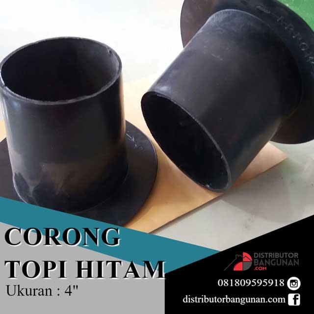 Corong talang 4 hitam Distributor Pipa PVC