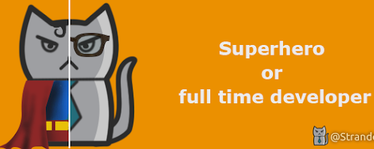 Superhero or full time developer – Stranded Soft