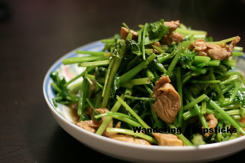 Chinese Celery and Chicken Stir-Fry 1