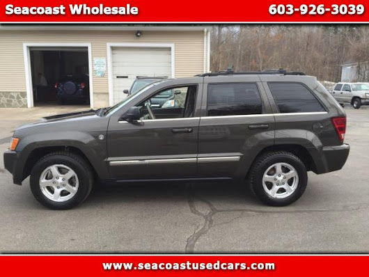 Used 2006 Jeep Grand Cherokee for Sale in Hampton Falls NH 03844 Seacoast Wholesale