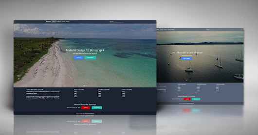 Bootstrap Full Page Video Carousel Template