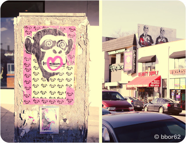 LA hello Mr. Brainwash