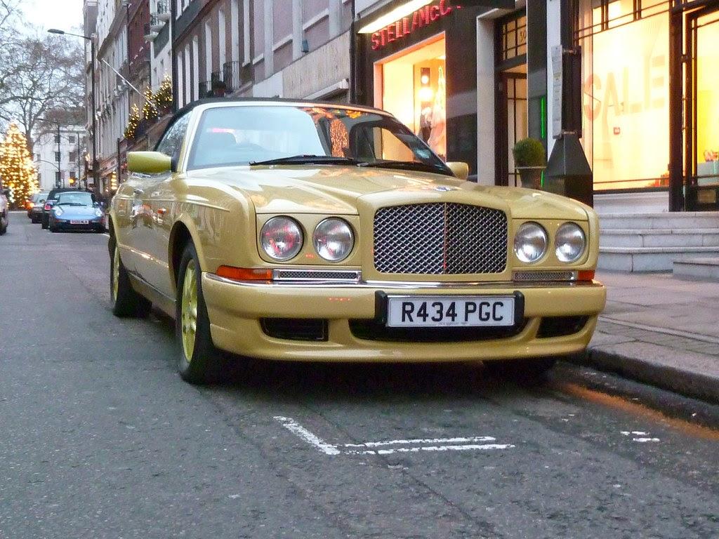 Bentley Yellow