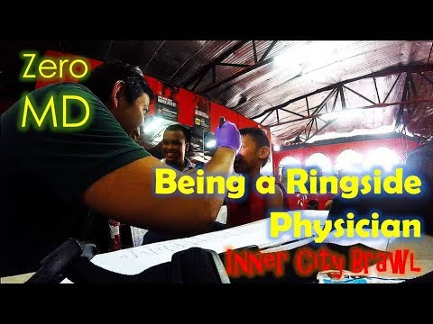 Being a Ringside Physician for a Day | Inner City Brawl 2017