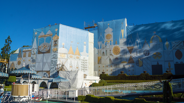 Disneyland Resort, Disneyland, Fantasyland, it's a small world, Facade, Refurbishment, Refurbish, Refurb, Disneyland60