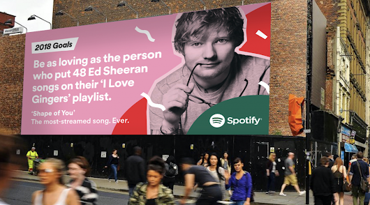 Spotify wraps up 2017 by making humorous goals for 2018 using its data and artists | The Drum