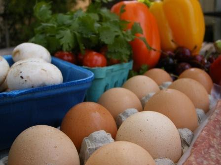 Fresh Farm Eggs from Westport Farmers Market