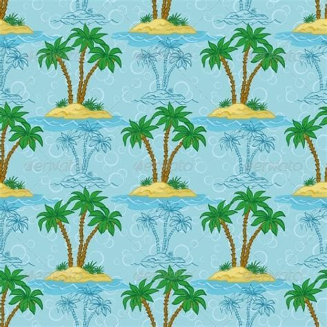 Palm Tree Pattern by alexcoolok   GraphicRiver