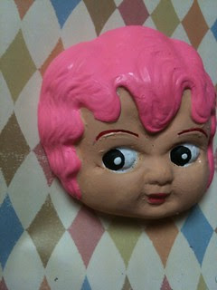 XL Cupie Head, Candy Pink! 3