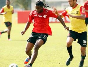 Diego Maurício treino Flamengo (Foto: Marcia Feitosa / VIPCOMM)