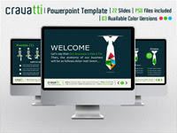 Cravatti Powerpoint Template - GraphicRiver Item for Sale