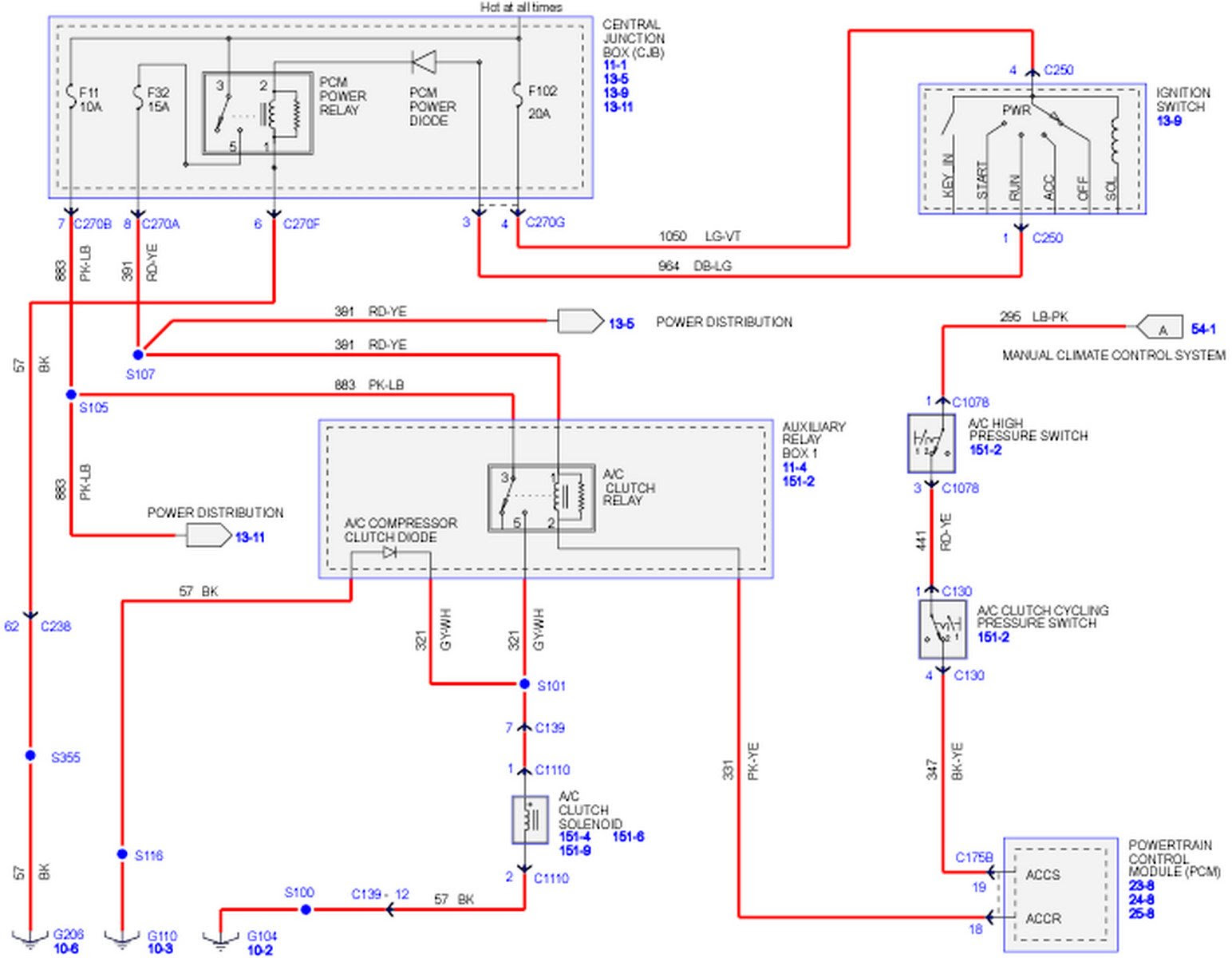 Ford F150 Air Conditioning Wiring Diagram - Wiring Diagram