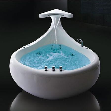 Bathroom Design Gallery on The Thalasson Baleina Whirlpool Bath Tub