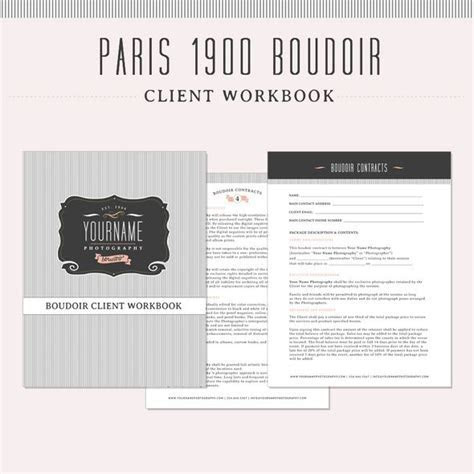 Boudoir Kit from The Shoppe: Welcome Page 5 page contract
