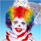Forum Novelties Child's Rainbow Clown Wig, Multicolor, OS