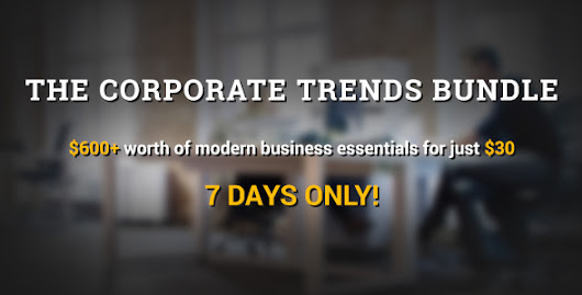 The Corporate Trends Bundle is here for 1 week only!
