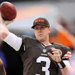 Brandon Weeden says he 'absolutely' can beat out any competition for Cleveland Browns' starting QB job