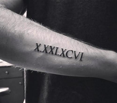 Tatuajes De Números Romanos Origen Ideas Y Significado Tatuajes