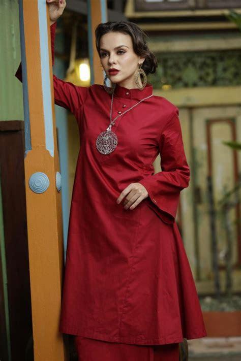beza antara pola fesyen baju kurung pesak